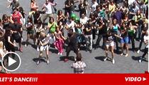 Alfonso Ribeiro -- LEADER of 'Carlton Dance' Flash Mob!!! [VIDEO]