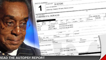 Don Cornelius Autopsy Report -- 'I Don't Know How Long I Can Take This'