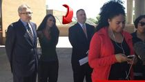 Pilar Sanders Released from Jail, BANNED from Texas Mansion