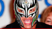 Rey Mysterio -- Suspended By the WWE