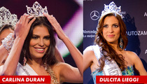 Miss Dominican Republic Carlina Duran DETHRONED ... Over Secret Marriage