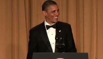 President Barack Obama KILLS at the White House Correspondents' Dinner