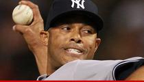 Mariano Rivera -- Shagging Injury Threatens Career of New York Yankees Superstar