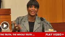 Usher's Ex-Wife -- I Did NOT Threaten to KILL Him