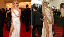 Supermodel Anja Rubik -- The Nearly X-Rated Jolie Leg!