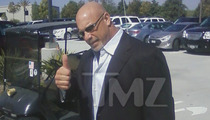 Junior Seau Memorial -- WWE Legend Bill Goldberg Arrives