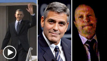 George Clooney & President Obama -- Dinner Leaves Bad Taste in Billy Crystal's Mouth