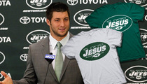 Tim Tebow -- Raising Hell Over 'MY Jesus' Tees