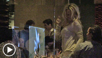 Pam Anderson -- Boozy Lap Dancing on Sunset Blvd
