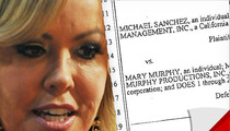 Mary Murphy Sued By Ex-Manager -- She's a 'Cocaine-Fueled Nymphomaniac'