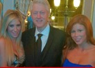 Bill Clinton -- SURROUNDED By Porn Stars in Monaco
