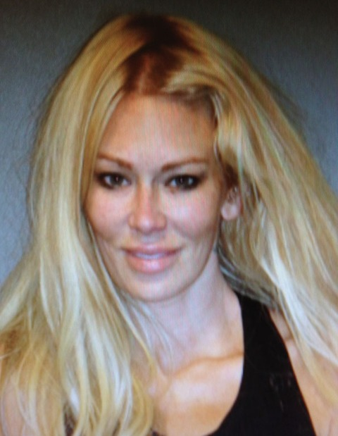 After hitting a light pole, Jenna Jameson, was arrested on suspicion of DUI in May 2012.