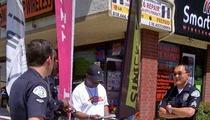 LeVar Burton -- 'Reading Rainbow' Host Rear-Ended by a Cop Car