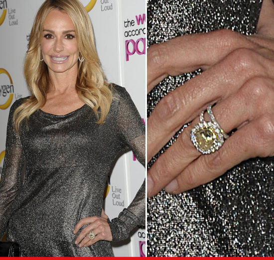 Taylor Armstrong I Got Screwed Over My 250k Engagement Ring TMZcom