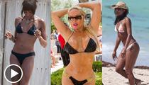 Naomi, Coco & Gabrielle Union -- Ultimate Celebrity Bikini Battle