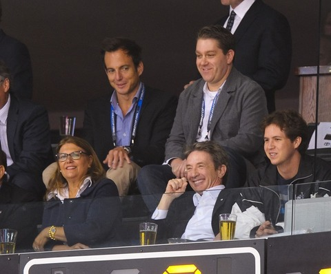Will Arnett and Martin Short