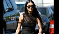 Demi Moore Resurfaces for Daughter's Graduation
