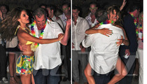 Mel Gibson Parties Hard with Maria Menounos