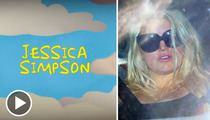 Jessica Simpson -- Taking it OFF ... But Laying Low