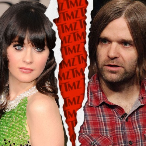 Zooey Deschanel and Ben Gibbard filed for divorce in January 2012