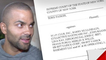 Tony Parker Files $20 Million Dollar Lawsuit Over Drake-Chris Brown Nightclub Fight