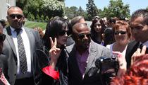 Randy Jackson -- Emotional Visit to MJ's Tomb