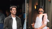 Tom Cruise & Katie Holmes -- Sleeping Apart in Weeks Leading Up to Divorce