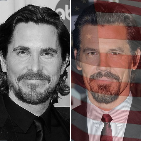 Christian Bale was born in Wales. Josh Brolin was born in the USA!