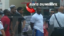 NFL Star Elvis Dumervil -- Untucked & Cuffed After Gun Arrest [Photo]