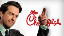 Ed Helms -- I Won't Eat at Chick-fil-A ... 'Cause It's Anti-Gay