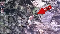 Tom Brady Throws Himself Off a Cliff [PHOTOS]