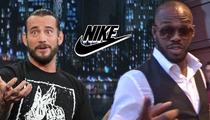 WWE Star C.M. Punk BLASTS Nike -- Signing Bones Jones is Wrong ... He's a TERRIBLE Role Model