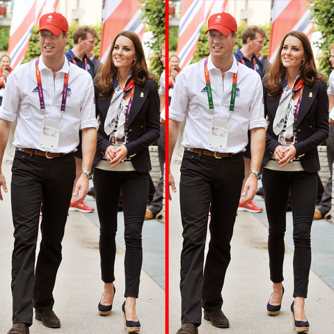 Can you spot the THREE differences in the William and Kate Middleton picture?
