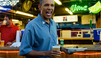 Barack Obama Buys Brews at State Fair -- 'FOUR MORE BEERS!'
