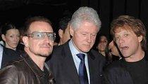 Bono, Jovi and Bill -- Who's the Bigger Rockstar!?