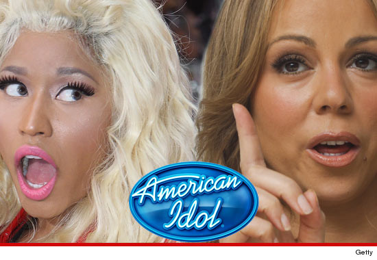 American Idol Judges NOT A Done Deal -- and Mariah Carey is PISSED