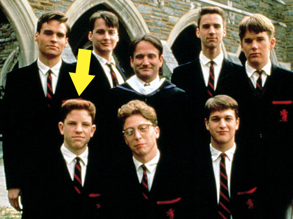 """Dylan Kussman is best known for playing student Richard Cameron, opposite Robin Williams, in the 1989 film """"Dead Poets Society."""""""