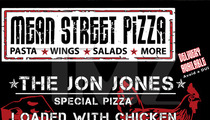 Chael Sonnen -- TEARS APART Jon Jones with Pizza Poster