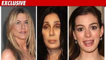 Aniston, Cher -- Alleged Victims in Credit Card Scheme