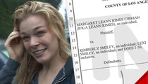 LeAnn Rimes SUES For Being Illegally Recorded
