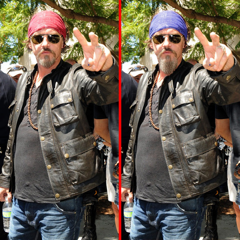 Can you spot the THREE differences in the Tommy Flanagan picture?