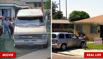 Cheech & Chong -- Car Crashes Into 'Next Movie' House