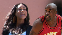 'Basketball Wives' Star Tami Roman -- Buries $800k Hatchet With Ex-Husband Kenny Anderson