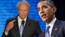 Barack Obama -- I'm a HUGE Clint Eastwood Fan