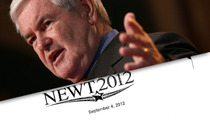 Newt Gingrich -- Sorry I Stole 'Eye of the Tiger'