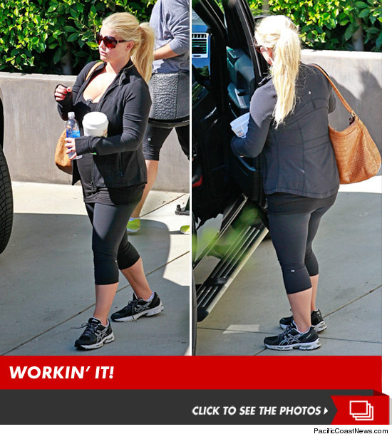 Jessica Simpson Keeps The Weight Off: Jessica Simpson -- Look At How Much Weight I've Lost In 4