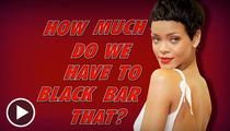 Rihanna -- Underboob Causes Censoring Overload