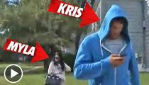 Kris Humphries & Myla Sinanaj -- Walk of Shame!!!