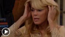 Dina Lohan -- Fidgety, Sweaty, Mumbling During Dr. Phil Interview