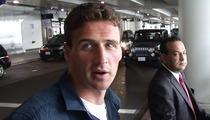 Ryan Lochte -- Jeah, I Heard About Seth MacFarlane's Impression